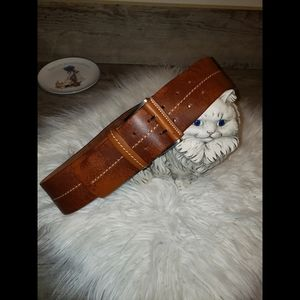 Fabio Corti Leather Belt